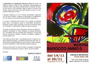 Mostra Barocco Anno Zero 2013