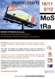 Mostra Manifestarti 'Museo Stradale' 2013